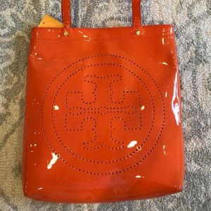 Orange Tory Burch bag (brand new with tags)